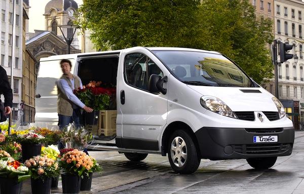 Renault Trafic France September 2013