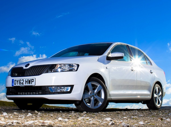 Skoda Rapid UK September 2013