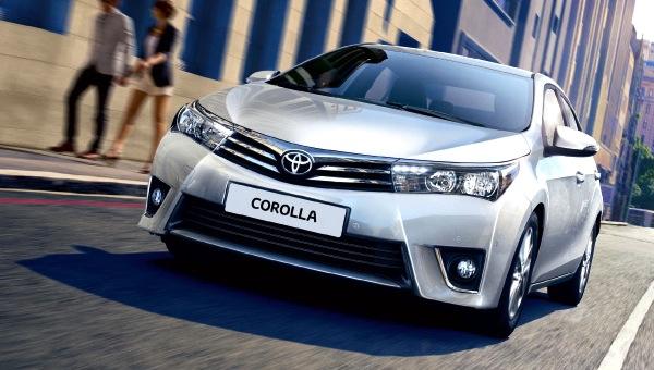 Toyota Corolla Greece October 2013