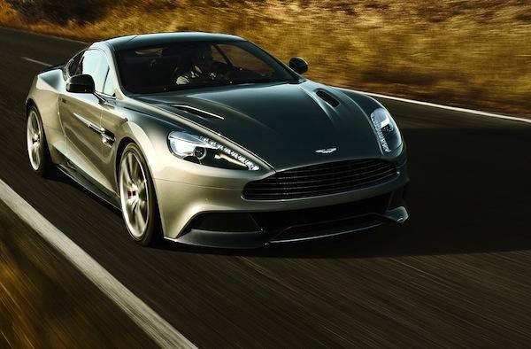 Aston Martin Vanquish Europe September 2013