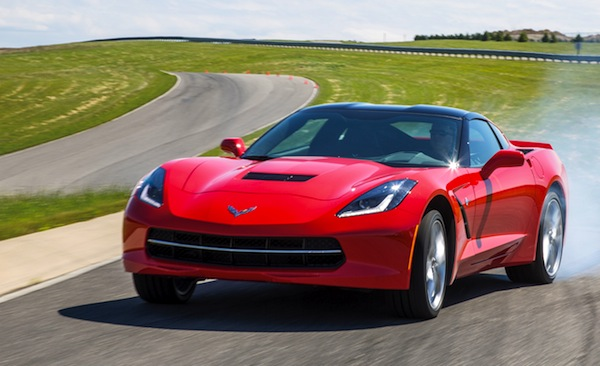 Chevrolet Corvette USA October 2013. Picture courtesy of motortrend.com