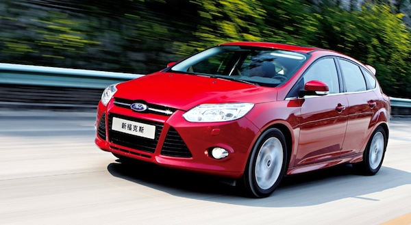 Ford Focus China October 2013. Picture courtesy of bitauto.com