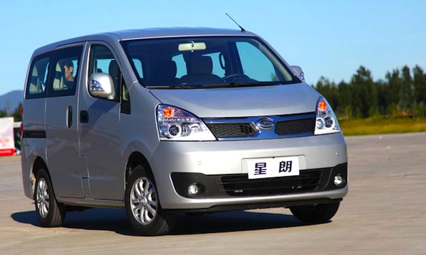 Gonow XingLang MPV China October 2013. Picture courtesy of auto.sohu.com