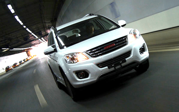 Haval H6 China October 2013. Picture courtesy of auto.sohu.com