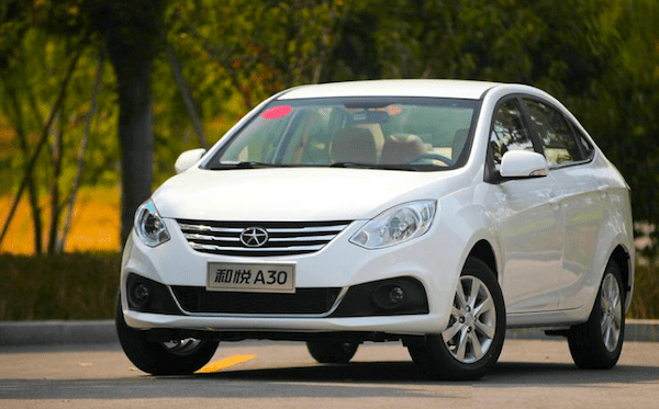 JAC Heyue A30 China October 2013. Picture courtesy of auto.sohu.com
