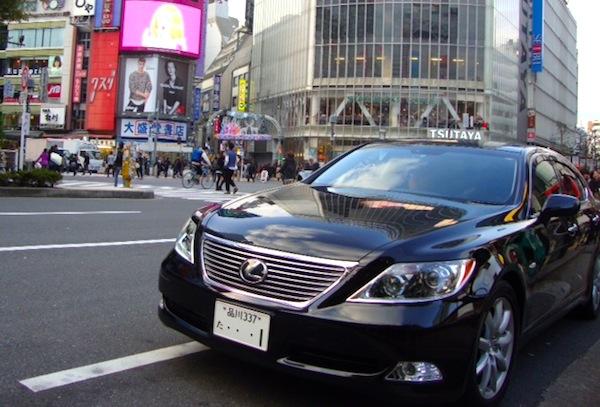 Lexus LS Shibuya