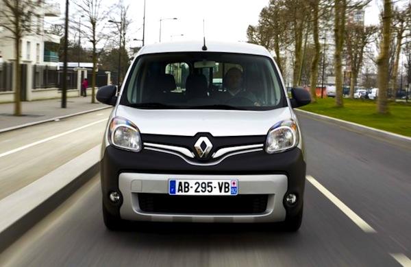 Renault Kangoo France October 2013