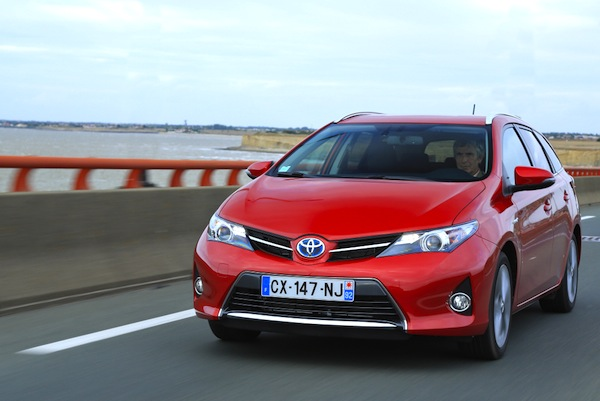 Toyota Auris Touring Sweden October 2013. Picture courtesy of largus.fr
