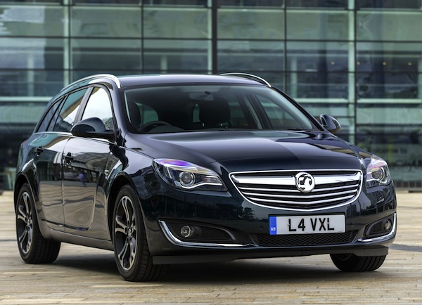 Vauxhall Insignia UK October 2013