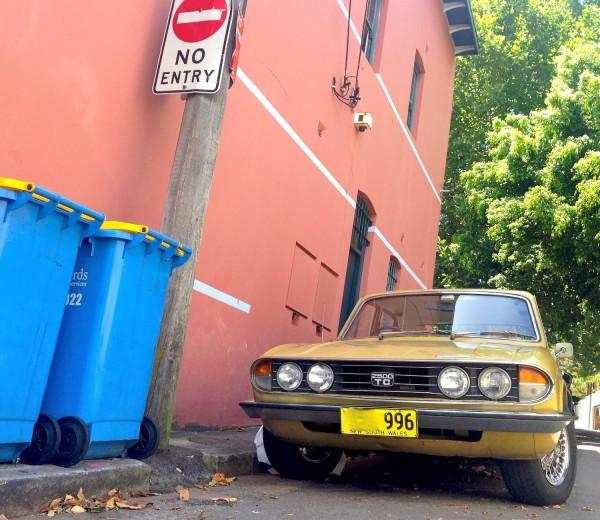 1974 Triumph 2500 TC  Sydney December 2013