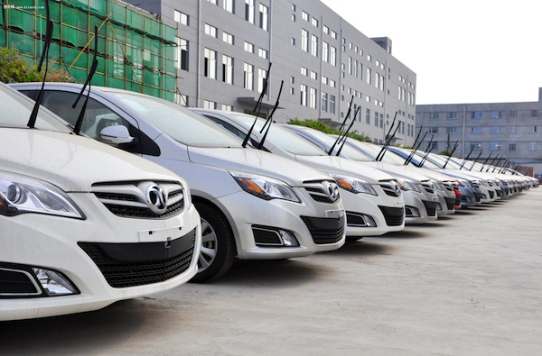 Beijing Auto E-Series China November 2013. Picture courtesy of bitauto.com