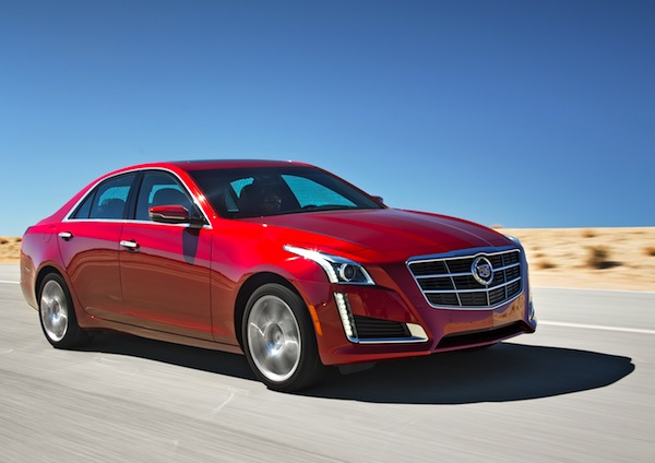 Cadillac CTS USA November 2013. Picture courtesy of motortrend.com