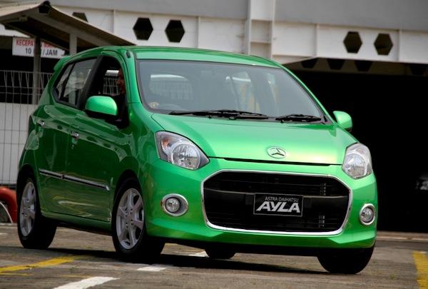 Daihatsi Ayla Indonesia November 2013