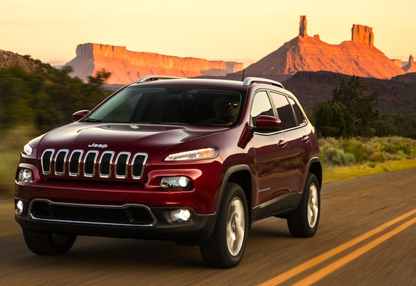 Jeep Cherokee USA November 2013. Picture courtesy of motortrend.com
