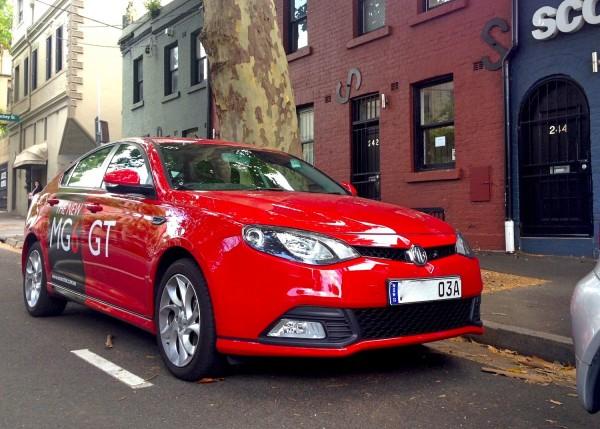 MG6 GT Sydney December 2013a