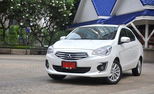 Mitsubishi Attrage Thailand September 2013. Picture courtesy of attrageclubthailand.com