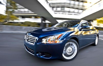 Nissan Maxima USA. Picture courtesy of motortrend.com