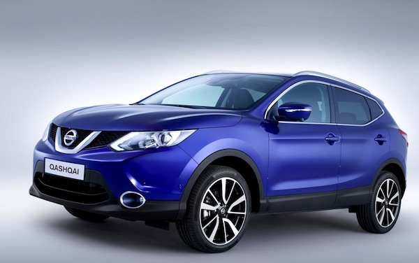 Nissan Qashqai Spain November 2013
