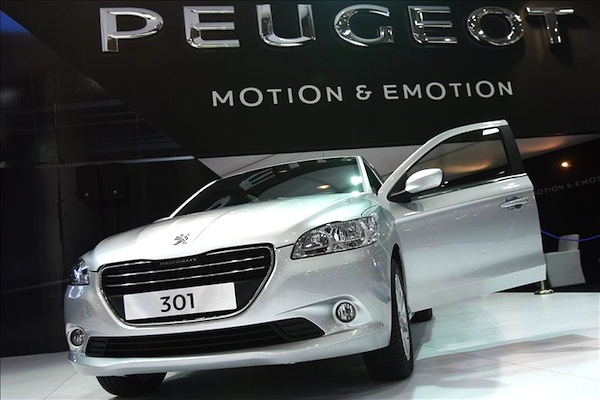 Peugeot 301 Reunion 2013. Picture courtesy of autocity.com