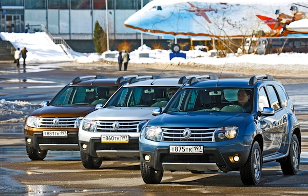 Renault Duster Russia November 2013. Picture courtesy of zr.ru