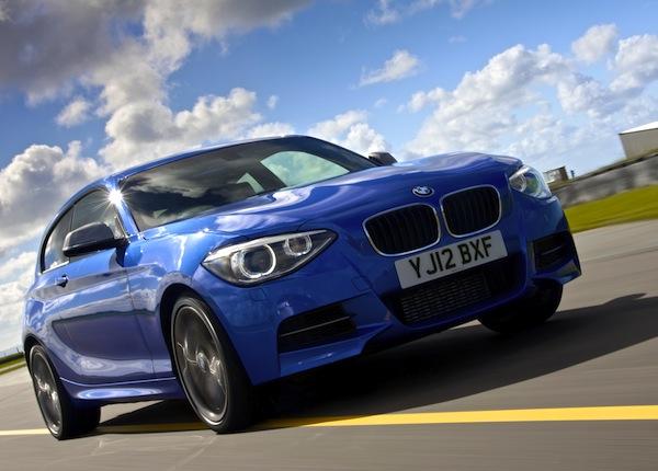 BMW 1 Series UK 2013