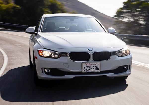 BMW 3 Series USA December 2013