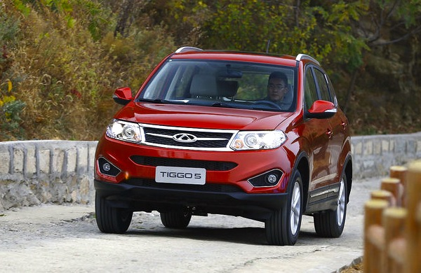 Chery Tiggo 5 China December 2013. Picture courtesy of auto.sohu.com