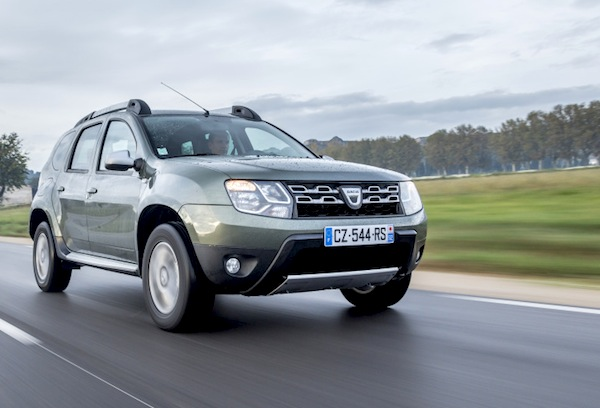 Dacia Duster Hungary 2013. Picture courtesy of largus.fr