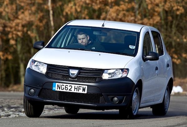 Dacia Sandero UK 2013