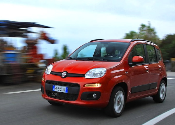Fiat Panda Italy 2013. Picture courtesy of largus.fr