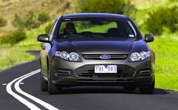 Ford Falcon Australia December 2013. Picture courtesy of nrma