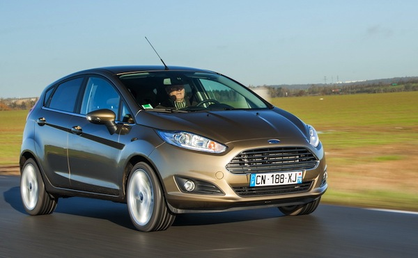 Ford Fiesta Romania 2014. Picture courtesy of largus.fr