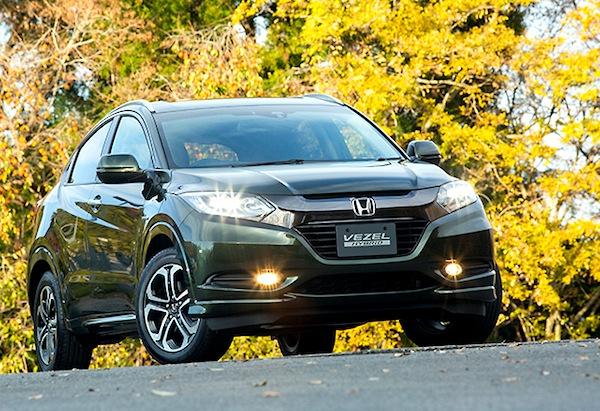 Honda Vezel Japan December 2013. Picture courtesy of car.watch.impress.co.jp