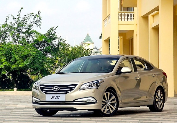 Hyundai Mistra China July 2014. Picture courtesy of autoevolution.com