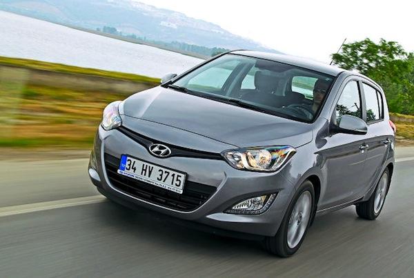 Hyundai i20 Austria 2013. Picture courtesy of autobild.de