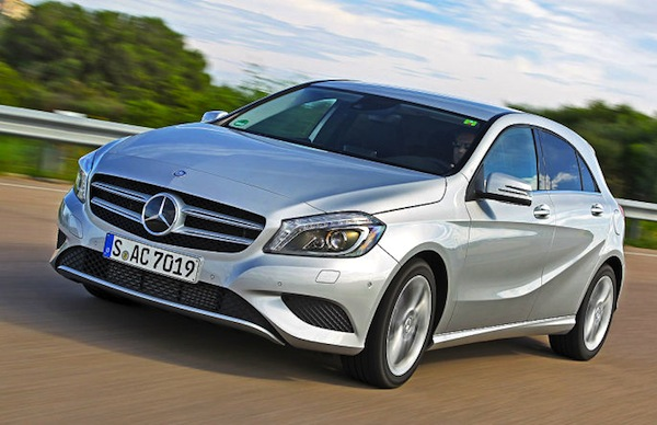 Mercedes A Class Greece December 2013. Picture courtesy of autobild.de