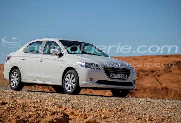 Peugeot 301 Algeria 2016. Picture courtesy of autoalgerie.com