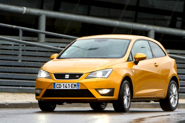 Seat Ibiza Spain 2013. Picture courtesy of largus.fr