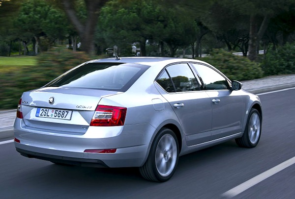 Skoda Octavia Germany December 2013. Picture courtesy of autobild.de