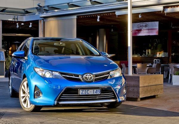 Toyota Corolla Australia 2013. Picture courtesy of caradvice.com.au