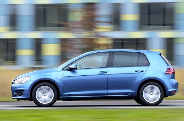 VW Golf Ireland 2013