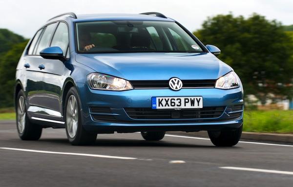 VW Golf UK April 2014