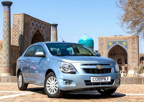 Chevrolet Cobalt Russia December 2013. Picture courtesy of zr.ru