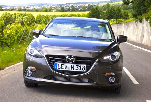 Mazda3 Germany January 2014. Picture courtesy of autobild.de