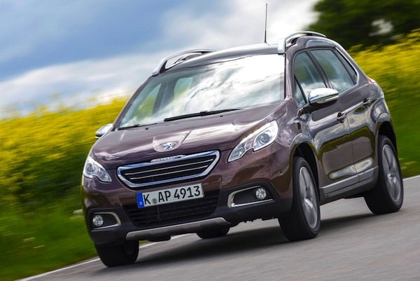 Peugeot 2008 Europe February 2014. Picture courtesy of autobild.de