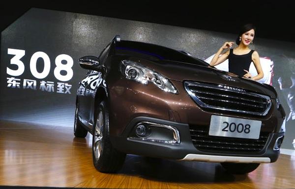Peugeot 2008 China 2014