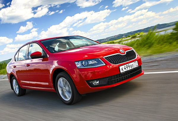 Skoda Octavia Bosnia May 2015. Picture courtesy of zr.ru