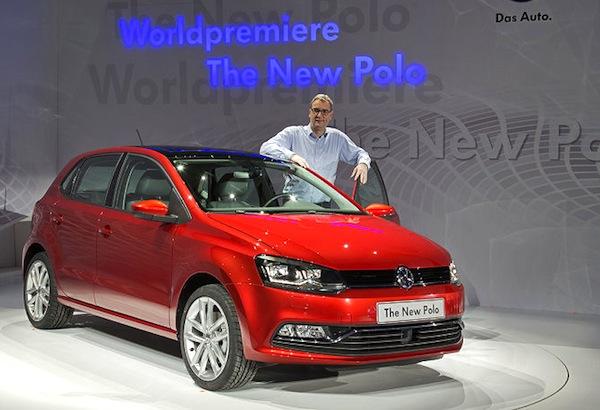 VW Polo Germany January 2014. Picture courtesy of autobild.de