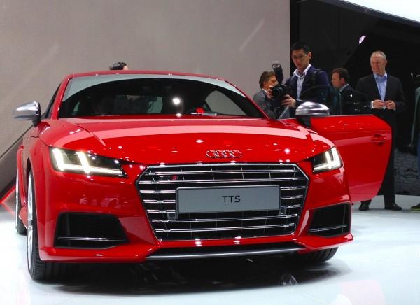 Audi TTS Geneva 2014