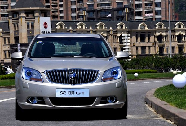 Buick Excelle GT China February 2014. Picture courtesy of mycar168.com